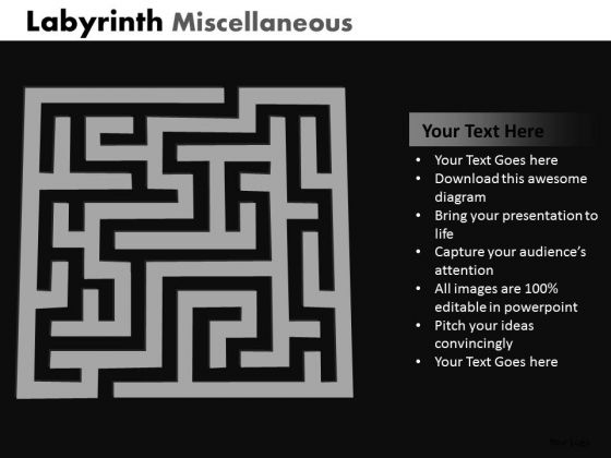 Marketing Diagram Labyrinth Misc Business Framework Model