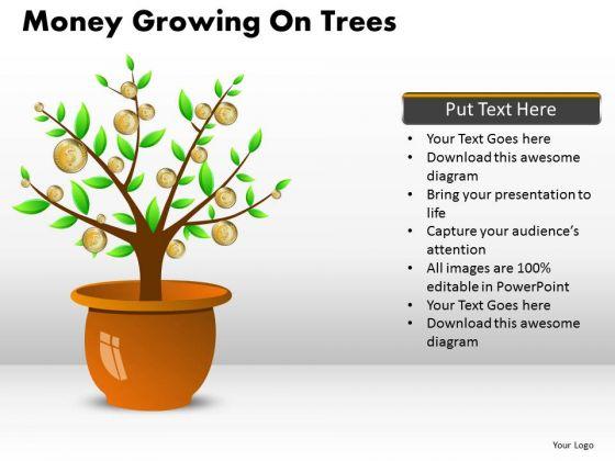 Marketing Diagram Money Growing On Trees Business Framework Model