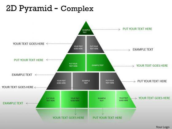 Marketing Diagram Multistaged 2d Pyramid Design Strategy Diagram