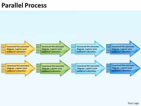 Marketing Diagram Parallel Process Strategy Diagram