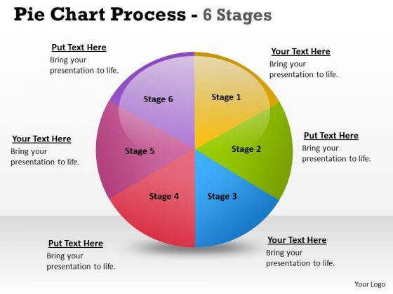 Marketing Diagram Pie Chart Process 6 Stages Strategic Management