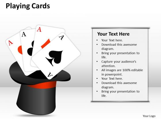 Marketing Diagram Playing Cards Business Cycle Diagram