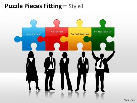 Marketing Diagram Puzzle Pieces Fitting Style 1 Mba Models And Frameworks