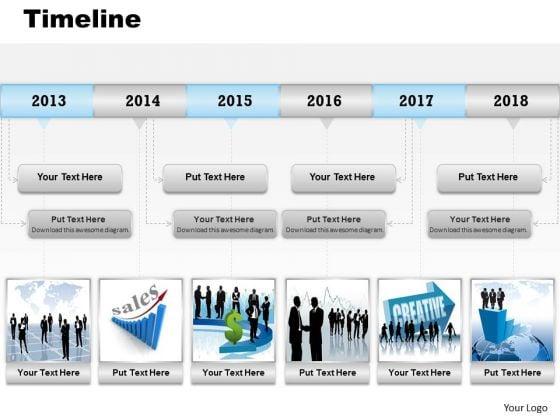 Marketing Diagram Roadmap Timeline Diagram For Sales Record Sales Diagram