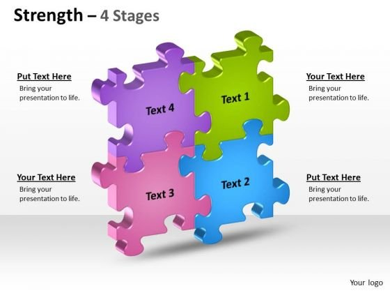 Marketing Diagram Strength 4 Stages Business Finance Strategy Development