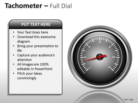 Marketing Diagram Tachometer Full Dial Business Framework Model