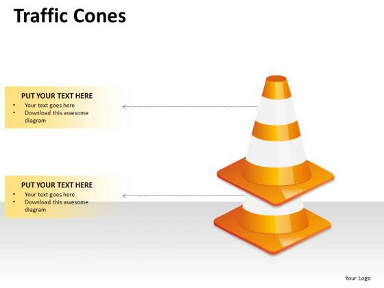 Marketing Diagram Traffic Cones Business Framework Model
