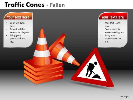 Marketing Diagram Traffic Cones Fallen Mba Models And Frameworks