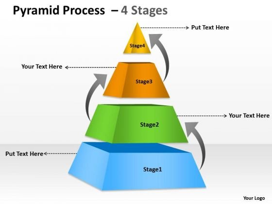 Marketing Diagram Unidirectional Triangle With Arrows Consulting Diagram