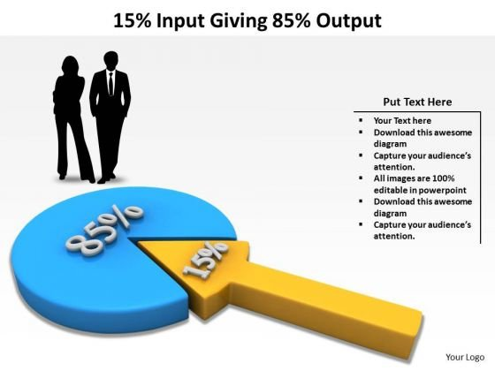 Mba Models And Frameworks 15 Input Giving 85 Output Marketing Diagram