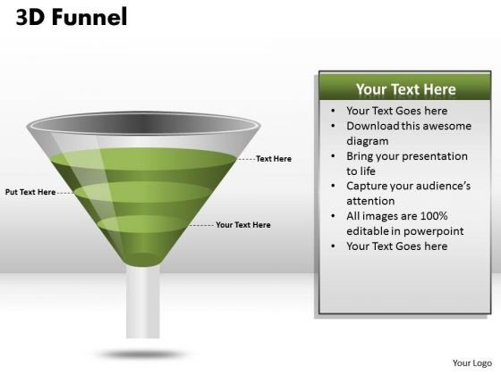 Mba Models And Frameworks 3 Staged Sales Funnel Diagram Strategy Diagram
