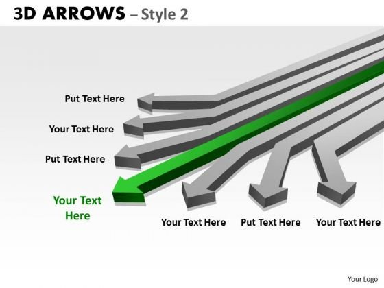 Mba Models And Frameworks 3d Arrows Styli Strategy Diagram