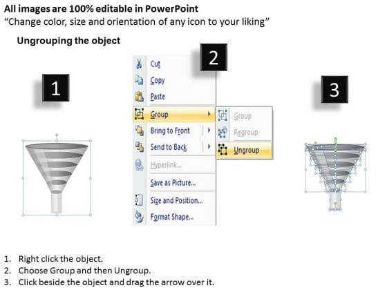 mba_models_and_frameworks_5_steps_of_process_flow_funnel_diagram_business_diagram_2