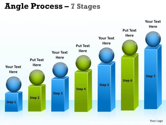 Mba Models And Frameworks Angle Process With 7 Stages For Business Consulting Diagram