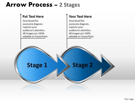 Mba Models And Frameworks Arrow Process 2 Stages