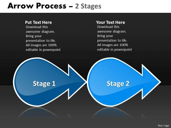 Mba Models And Frameworks Arrow Process 2 Stages 2