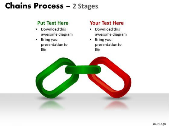 Mba Models And Frameworks Chains Process 2 Stages Sales Diagram