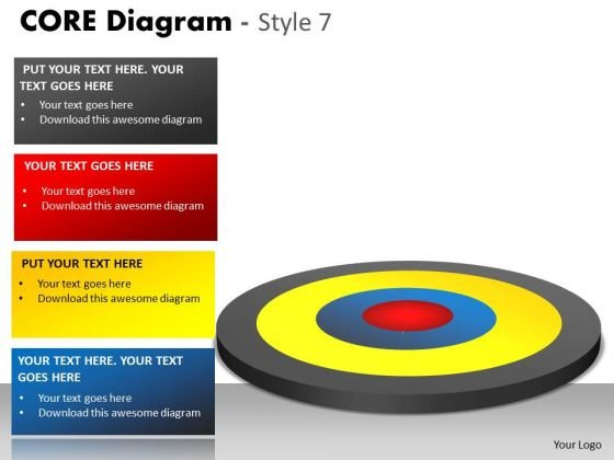 Mba Models And Frameworks Core Diagram Sales Diagram