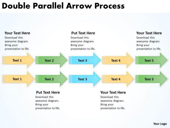 Mba Models And Frameworks Double Parallel Arrow Process Business Framework Model