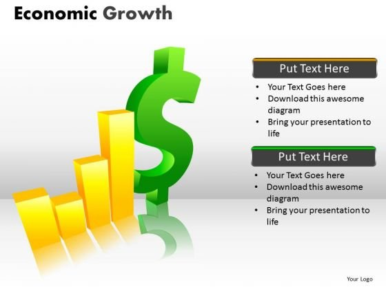 Mba Models And Frameworks Economic Growth Sales Diagram