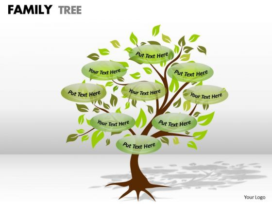 Mba Models And Frameworks Family Tree 1 Strategy Diagram
