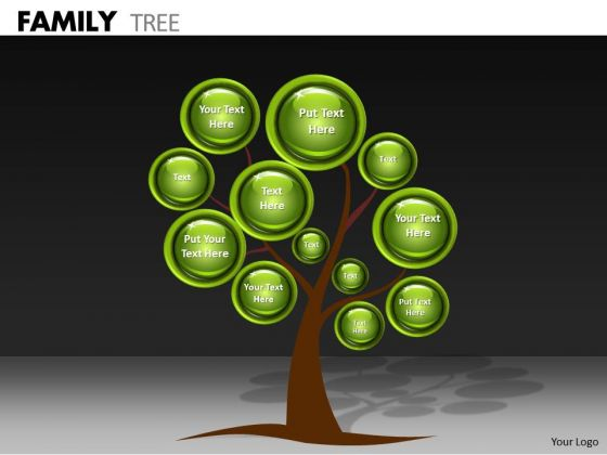 Mba Models And Frameworks Family Tree Strategy Diagram