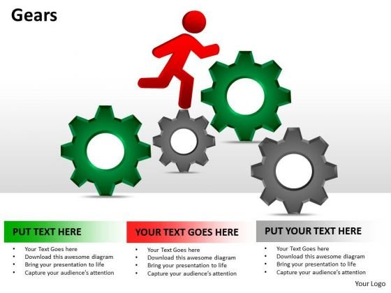 Mba Models And Frameworks Gears Business Diagram