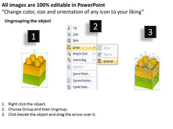 mba_models_and_frameworks_lego_blocks_diagram_2_stages_business_diagram_2