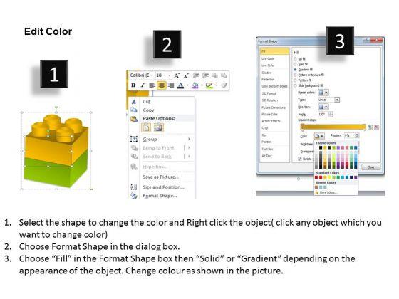 mba_models_and_frameworks_lego_blocks_diagram_2_stages_business_diagram_3