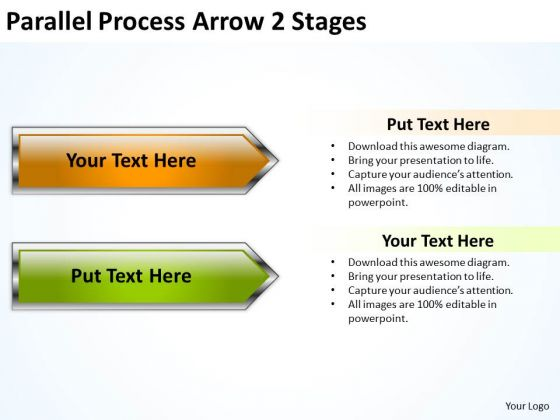 Mba Models And Frameworks Parallel Process Arrow 2 Stages Strategic Management