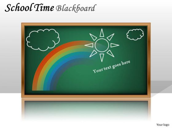 Mba Models And Frameworks School Time Blackboard Business Cycle Diagram