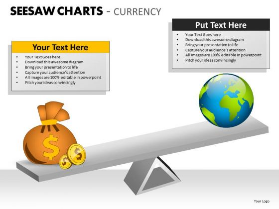 Mba Models And Frameworks Seesaw Charts Currency Marketing Diagram