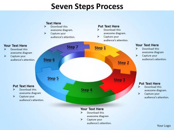 Mba Models And Frameworks Seven Steps Process Consulting Diagram