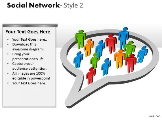 Mba Models And Frameworks Social Network Style 2 Diagram Marketing Diagram