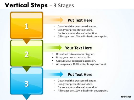 Mba Models And Frameworks Vertical Steps 3 Consulting Diagram