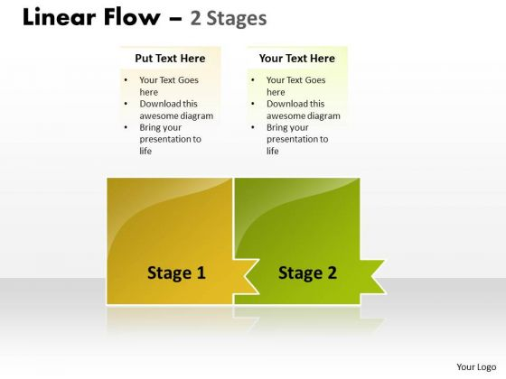 Sale Diagram Linear Flow 2 Stages