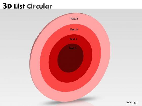 Sales Diagram 3d Circular Business Diagram Marketing Diagram