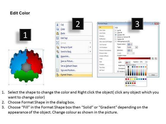 sales_diagram_3d_gear_process_4_style_business_diagram_3