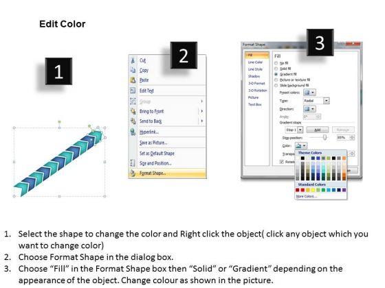 sales_diagram_3d_linear_arrow_11_stages_strategy_diagram_3