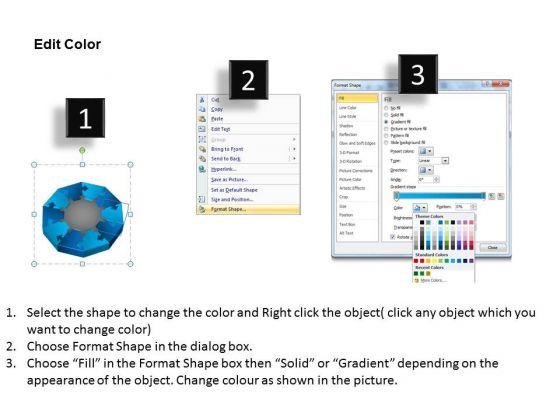 sales_diagram_3d_mixed_puzzle_process_10_business_cycle_diagram_3