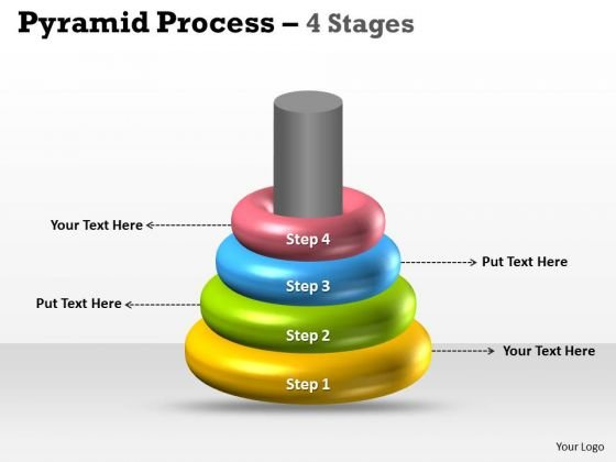 Sales Diagram 4 Rings For Marketing Process Business Finance Strategy Development