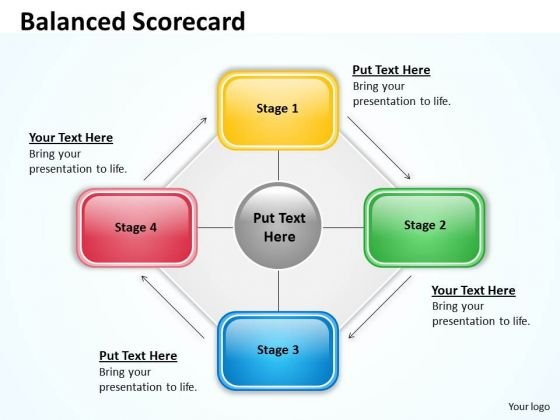Sales Diagram Balanced Scorecard For Sales Process Marketing Diagram