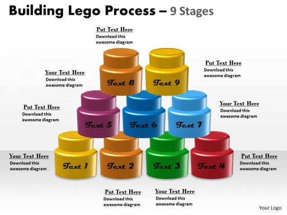 Sales Diagram Building Lego Process 9 Stages Mba Models And Frameworks