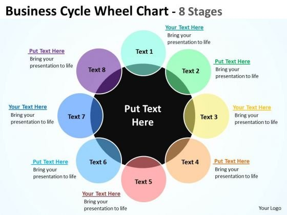 Sales Diagram Business Cycle Wheel Diagrams Chart 8 Stages Strategy Diagram