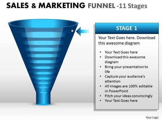 sales_diagram_business_marketing_funnel_with_11_stages_consulting_diagram_1