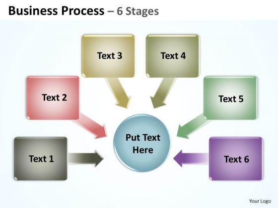 Sales Diagram Business Process 6 Stages 2 Marketing Diagram