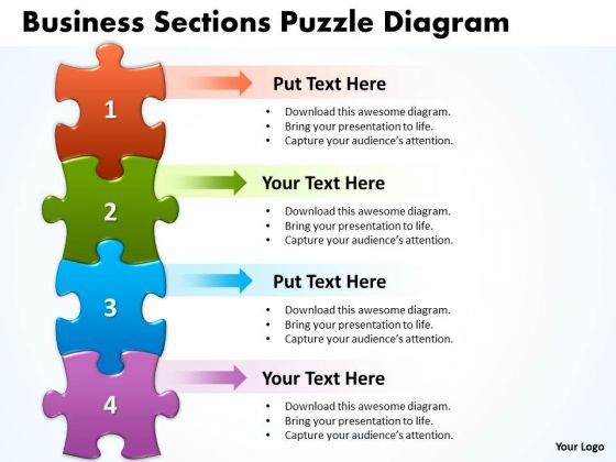 Sales Diagram Business Sections Puzzle Diagram Consulting Diagram