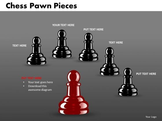 Sales Diagram Chess Pawn Pieces Business Cycle Diagram