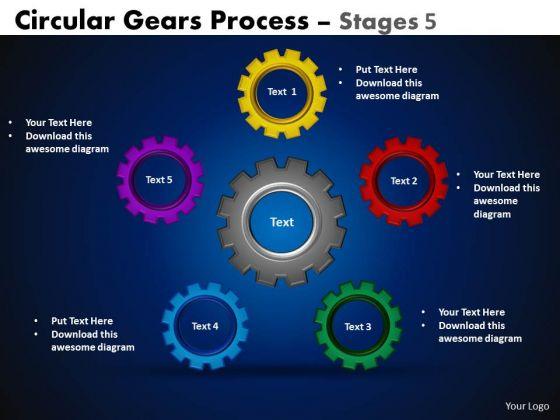 Sales Diagram Circular Gears Flowchart Process Diagram Business Diagram