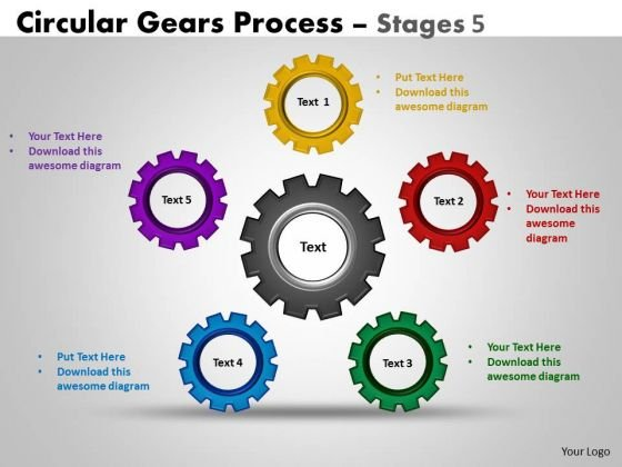 Sales Diagram Circular Gears Flowchart Process Diagram Stages Sales Diagram